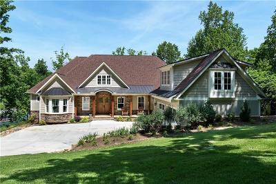Oconee County, Pickens County Single Family Home For Sale: 211 N Beacon Shores Drive