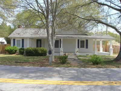 Easley Single Family Home For Sale: 802 Rice Road