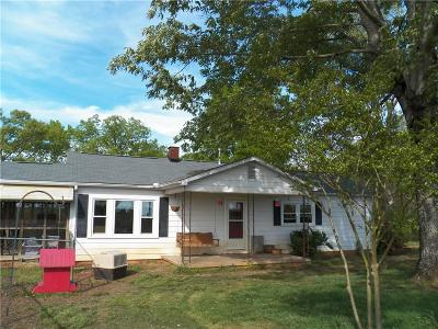 Single Family Home For Sale: 1739 Coffee Road