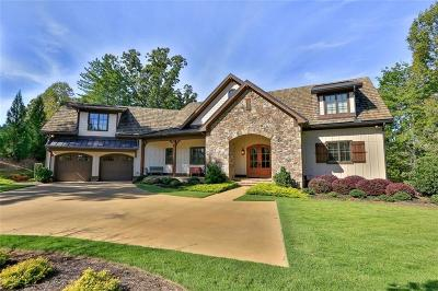 The Reserve At Lake Keowee Single Family Home For Sale: 108 Ellenburg Creek Road