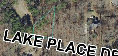 Residential Lots & Land For Sale: Lake Place Drive