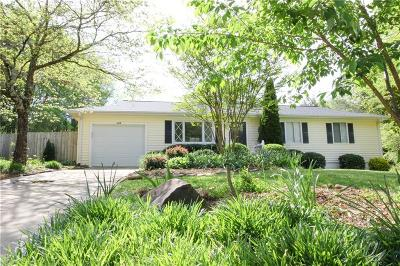 Central Single Family Home Contract-Take Back-Ups: 115 Lynwood Drive
