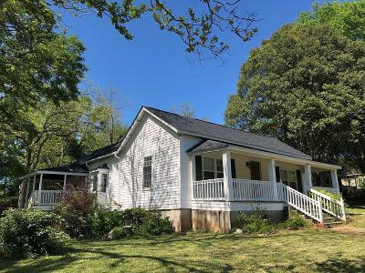 Central Single Family Home For Sale: 605 Gaines Street
