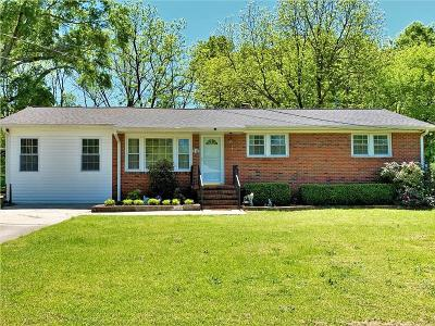 Easley Single Family Home For Sale: 112 Summit Drive