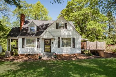 Easley Single Family Home For Sale: 102 Parkway Drive