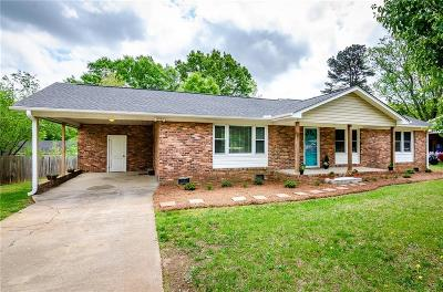 Greenville SC Single Family Home For Sale: $192,900