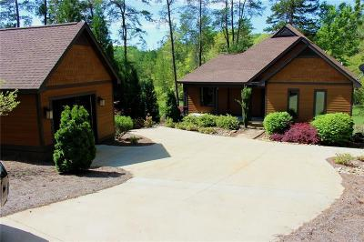 Single Family Home For Sale: 198 Jocassee Point Road