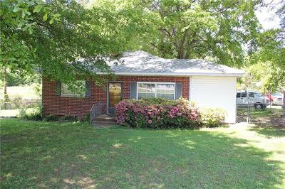 Anderson SC Single Family Home For Sale: $59,000