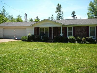 Anderson SC Single Family Home For Sale: $119,500