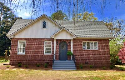 Anderson Single Family Home For Sale: 2607 Lane Avenue