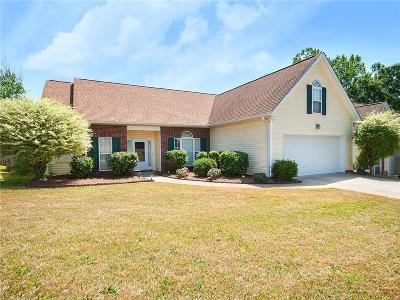 Simpsonville Single Family Home For Sale: 104 Cranebill Drive