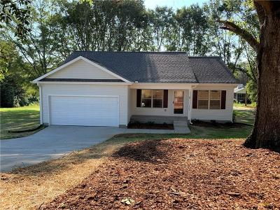 Pickens Single Family Home For Sale: 107 Allgood Drive