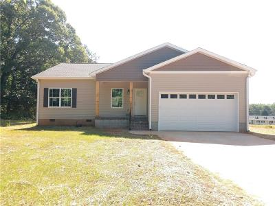 Pelzer Single Family Home Contract-Take Back-Ups: 7218 Midway Road