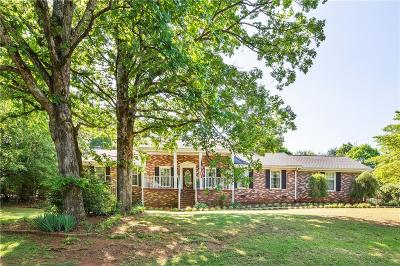 Single Family Home For Sale: 1131 Cartee Road