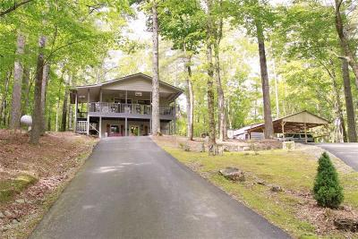 Long Creek, Longcreek, Mountain Rest, Mt. Rest, Mtn Rest, Mtn. Rest Single Family Home For Sale: 920 Chattooga Lake Road