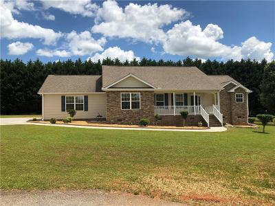 Pendleton Single Family Home For Sale: 108 Sunny Hill