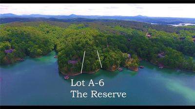 Sunset Residential Lots & Land For Sale: Lot A-6 The Reserve At Lake Keowee