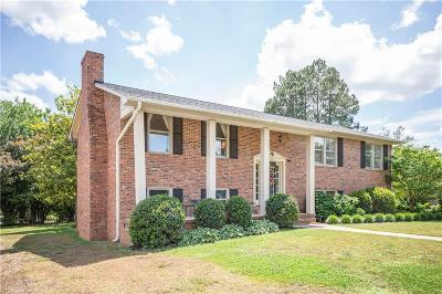 Anderson Single Family Home For Sale: 1206 Hanover Road