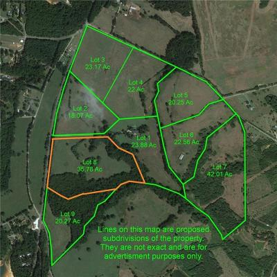 Starr Residential Lots & Land For Auction: 00 S Us-29 Highway