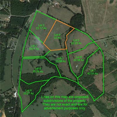 Starr Residential Lots & Land For Auction: 00 S Rainey Road