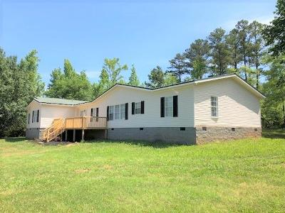 Plum Branch SC Mobile Home For Sale: $109,900