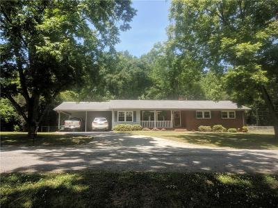 Williamston Single Family Home For Sale: 3 Stewart Street