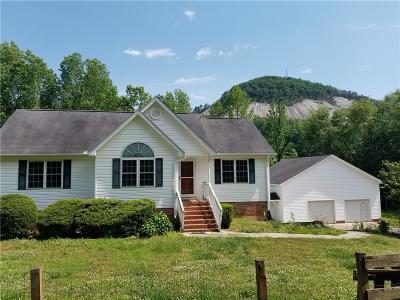 Pickens Single Family Home For Sale: 524 North Glassy Mountain Road