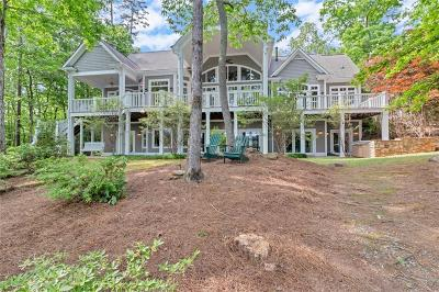 Oconee County, Pickens County Single Family Home For Sale: 136 Talons Point
