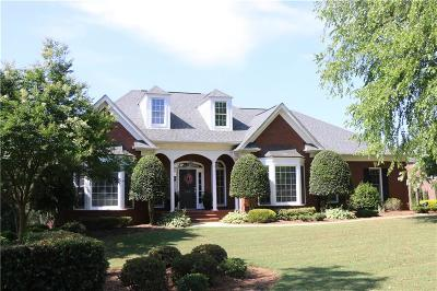 Clemson Single Family Home For Sale: 102 Knollwood Drive
