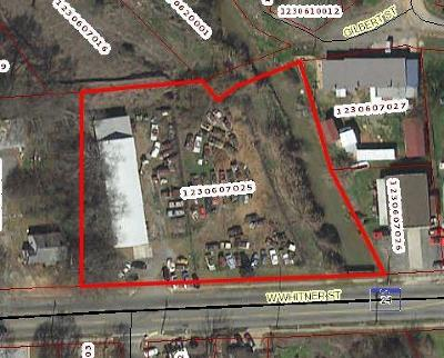 Anderson Commercial For Sale: 1822 W Whitner Street