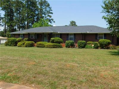 Anderson Single Family Home For Auction: 1603 Bolt Drive