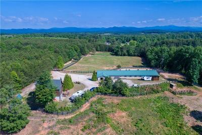 Oconee County Single Family Home For Sale: 427 Damascus Church Road