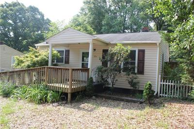 Single Family Home For Sale: 1711 E Park Drive