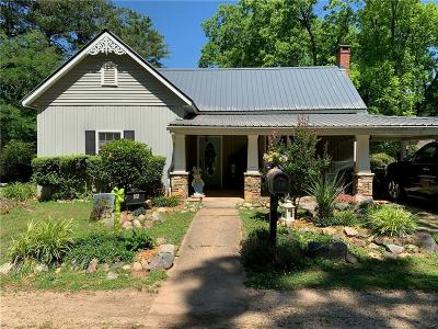 Oconee County Single Family Home Contract-Take Back-Ups: 108 Leathers Street