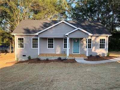Pickens Single Family Home For Sale: 113 Allgood Drive