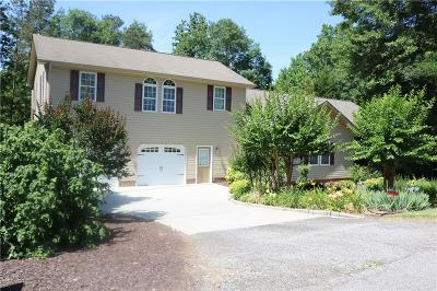 Anderson County, Oconee County, Pickens County Single Family Home For Sale: 401 Graham Road