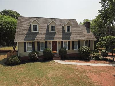 Clemson Single Family Home For Sale: 106 Monaco Circle