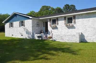 Abbeville County Single Family Home Contract-Take Back-Ups: 593 Hwy 178 S Highway