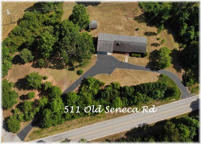 Westminster Single Family Home Contract-Take Back-Ups: 511 Old Seneca Road