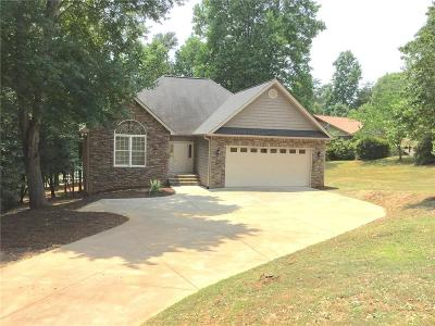Anderson County, Oconee County, Pickens County Single Family Home For Sale: 214 Trail End Road