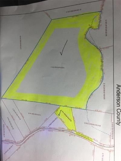 Starr Residential Lots & Land For Sale: 58.36 Acres Stevenson Road