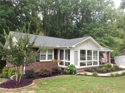 Greer Single Family Home For Sale: 109 Pinewood Drive