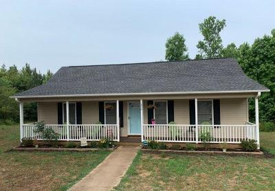 Pickens Single Family Home Contract-Take Back-Ups: 239 Rolling Pines Drive