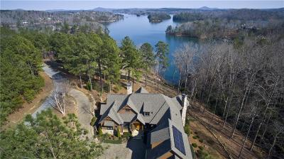 Oconee County, Pickens County Single Family Home For Sale: 411 Evergreen Trail