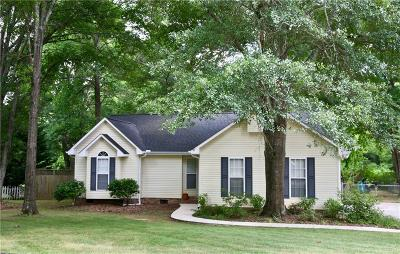 Anderson SC Single Family Home For Sale: $174,900