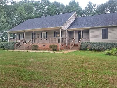 Starr Single Family Home For Sale: 436 McElrath Road