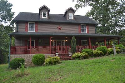 Lavonia, Martin, Toccoa, Fair Play, Westminster Single Family Home For Sale: 115 Feno Drive
