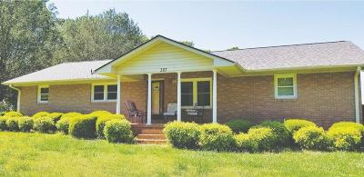 Pelzer Single Family Home For Auction: 327 Old Brickyard Road