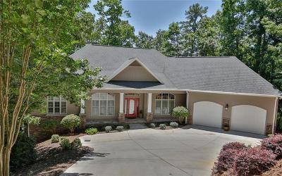 Oconee County, Pickens County Single Family Home For Sale: 21 Windlass Court