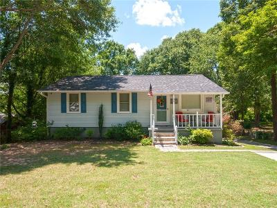 Easley Single Family Home Contract-Take Back-Ups: 94 Preston Street